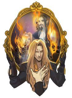 Castlevania Dracula, Alucard Castlevania, Castlevania Netflix, Castlevania Lord Of Shadow, Castlevania Games, Manga Anime, Anime Art, Character Inspiration, Character Art