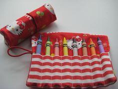 Hello Kitty Crayon Roll