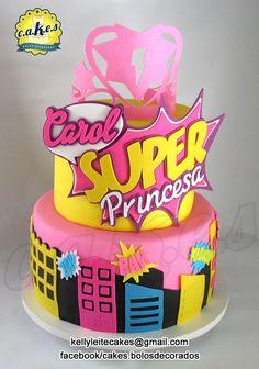 Cake Barbie Power Princess