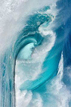 "plasmatics-life: "" Ocean Waves ~ By Portfolio Natural "" Water Waves, Sea Waves, Sea And Ocean, Ocean Beach, All Nature, Science Nature, Beautiful Ocean, Beautiful Beaches, Le Grand Bleu"