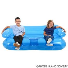 Inflatable couch for '90s party