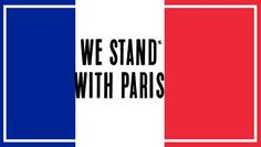 WE STAND WITH PARIS - JE SUIS PARIS in Banana chat app