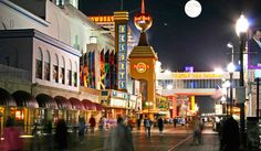 Casinos in Atlantic City. Boardwalk at night in Atlantic City New Jersey , Rockefeller Center, Vacation Planner, Vacation Trips, Custom Modular Homes, Times Square, Mission Beach, Beach Boardwalk, Chicago, Win A Trip