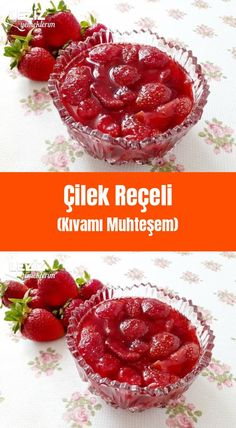 Strawberry Jam (Thickness is Gorgeous) – My Delicious Food - Obst Healthy Cake Recipes, Snack Recipes, Snacks, Athlete Nutrition, Healthy Nutrition, Healthy Fruits, Healthy Drinks, Tasty, Yummy Food