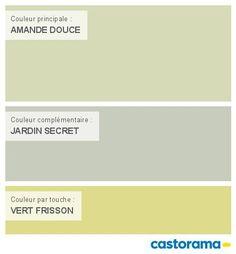 Castorama Nuancier Peinture - Mon harmonie Peinture  AMANDE DOUCE satin de DULUX VALENTINE Crême de couleur
