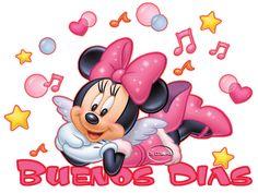 buenos dias | Buenos dias #saludos #television #mickey - Tarjetitas