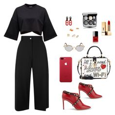 """""""Untitled #747"""" by n-abagnale on Polyvore featuring Valentino, Public School, Dolce&Gabbana, Jean-Paul Gaultier, Ippolita, Tiffany & Co., Yves Saint Laurent, Chanel, Lana and Daria de Koning"""