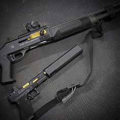 Salient Arms - Benelli M4 and Glock 21Loading that magazine is a pain! Get your Magazine speedloader today! http://www.amazon.com/shops/raeind