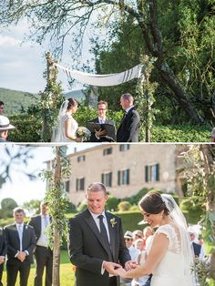 Take a groom from South Africa, a bride from Canada, a first meeting in Singapore, and a proposal in Botswana… well surely it makes perfect sense to hold your wedding in Italy! With a large number of friends in Europe … Continue reading →