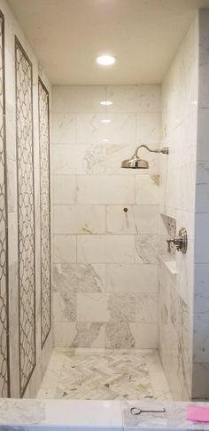 306 best calacatta gold marble tile luxury bathroom design images rh pinterest com