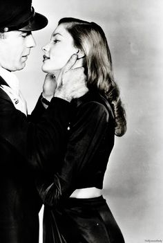 Humphrey Bogart and Lauren Bacall - To Have and Have Not (1944)
