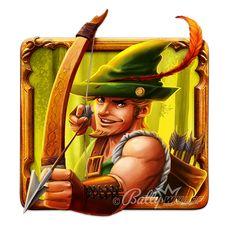 Slot Game - Robin Hood on Behance