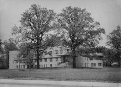 The newly built Magruder Hospital 1940, born here, Port Clinton, Ohio