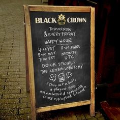 Welcome To Happy Hour At The Black Crown Pub, Shelly Bond's New HQ