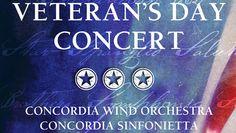 Veterans Day Concert @ Concordia Studio Theatre (Irvine, CA)