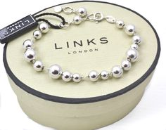 Links of London Sterling Silver Effervescence Bubble Bracelet 5010.1480 (mrrp £195) | Lush Labels British designed jewellery, accessories & gifts