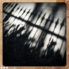 @photojam #41 eerie shadows captured with Retro Camera app by Sandy Hibbard, via Flickr