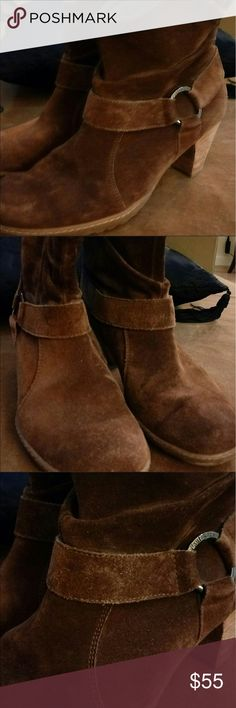 Paul Green brown suede boots, booties. Size 8 Paul Green super comfortable. Size 8 Paul Green Shoes Ankle Boots & Booties