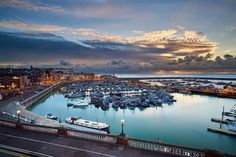 Ramsgate harbour at sunrise. (FYI Sony a6000 samyang 12mm various exposures @F11@ISO 100  nisi CPL  nd grad filter  edited in capture one pro  blended in Photoshop) ///// #sonya6000 #samyang #nisi #cpl #nd #ndgrad #sunrise #ramsgate #thanet #kent #uk #england #harbour #boats #sailing #port #lights #water #sea #clouds #sky #city #landscape #sun #every3secondsadonkeycries  @sonyalpha6000 @sonyimages @visitkent