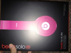 Love my new pink beats by dre.