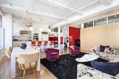 A Vibrant Apartment in Tribeca | HomeDSGN, a daily source for inspiration and fresh ideas on interior design and home decoration.