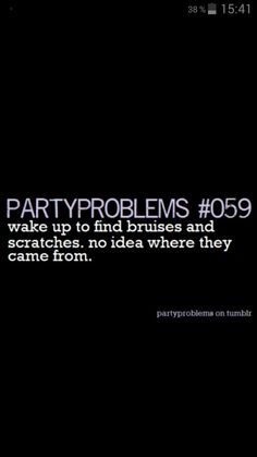 Partyproblems on tumblr