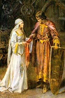 Camelot Guinevere illustrations | Camelot.....Lancelot, the greatest of Arthur's knights, destined to become part of the eternal triangle with Arthur and Guinevere.  — schools.yrdsb.ca