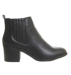 29db5d0acb86a3 Buy Black Office Imitate Chelsea Boots from OFFICE.co.uk. Stiefel