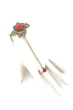 Slave Bracelet, Ring Bracelet, Bracelets, Hand Chain, Fashion Jewelry, Amazon, Rings, Trendy Fashion Jewelry, Riding Habit