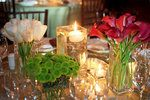 Reception; Wedding Reception; Table decorations; Wedding candles; Centerpieces