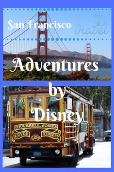 """Discover the city of San Francisco in a new way. Adventures by Disney offers this long weekend excursion to explore the acclaimed sites of the """"City by the Bay"""" and learn its storied history. Disney Destinations, Adventures By Disney, Disney California Adventure, Disney Tips, Group Travel, Disney Family, Disney Dream, Long Weekend, Wyoming"""