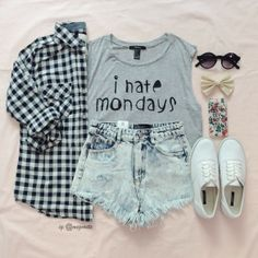 I hate mondays...and every other day that is not a holiday #summerforever #f21xme