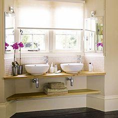 ideas para mejorar el espacio de almacenamiento del baño