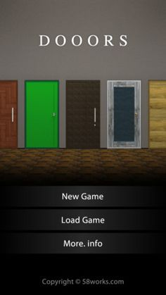 Dooors- escape room game .The purpose of this game is to break out of the rooms. Solve the hidden mysteries to open the door and escape from the room. There is a total of 75 stages. You may need intuitive actions such as tilting or shaking the iPhone. Make full use of your brain and complete the stages!
