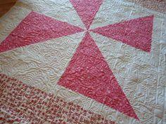 Pinwheels by fourseasonsquiltswap, via Flickr