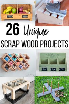 Easy DIY scrap wood project ideas to try. Perfect beginner projects to use up all that scrap wood. #anikasdiylife #woodworking Small Woodworking Projects, Easy Small Wood Projects, Wood Projects That Sell, Awesome Woodworking Ideas, Scrap Wood Projects, Wood Projects For Beginners, Diy Pallet Projects, Diy Woodworking, Easy Projects