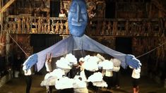 Bread & Puppet Theater - Blue Sky Puppet + Mask Dance - Friday Night Sho...