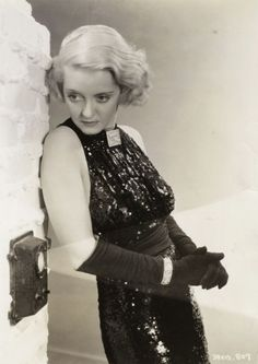 Bette Davis, 1930s. will kick your ass with a look.