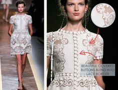Effortless Lace and Embroidery at Valentino - The Cutting Class