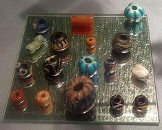 Glass and stone beads History Museum, Oslo, Norway https://glaumbaer.wordpress.com/2013/12/24/historisches-museum-oslo-teil-2/