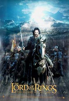 lord of the rings poster 24x36   The Lord Of The Rings: The Return of the King poster