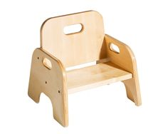 A toddler's delight: chairs they can get in and out of, carry, and push! communityplaythings.com - J505 5 MeDoIt Chair