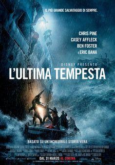 L'Ultima Tempesta, il film con Chris Pine, Ben Foster e Eric Bana, dal 31 marzo al cinema.