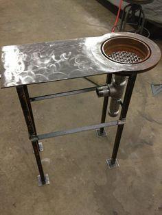 Homemade Forge.