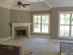 "Sherwin Williams Perfect Greige and it is PERFECT for what we have planned.....""is it grey....is it taupe""?"