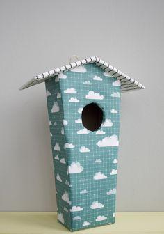 Casa alargada de nubes