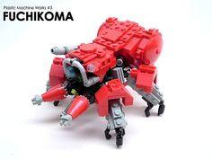 Fuchikoma by [Soren], via Flickr - Loads of cool Lego stuff here