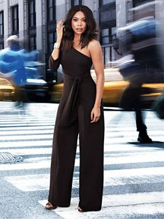 8f3f8432a69 Shop 7th Avenue - One-Shoulder Jumpsuit. Find your perfect size online at  the
