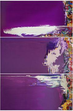 Paulo Moluap Tríptico  100 x 200 cm cada módulo MST