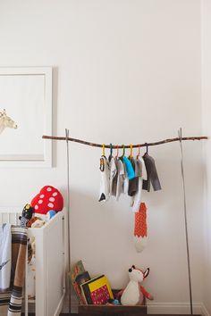 Branch clothes hanger Cruz's Modern Geometric Masterpiece apt therapy